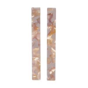 Jewelry - Restocked! 3 for $15 Tortoise Shell Bar Earrings